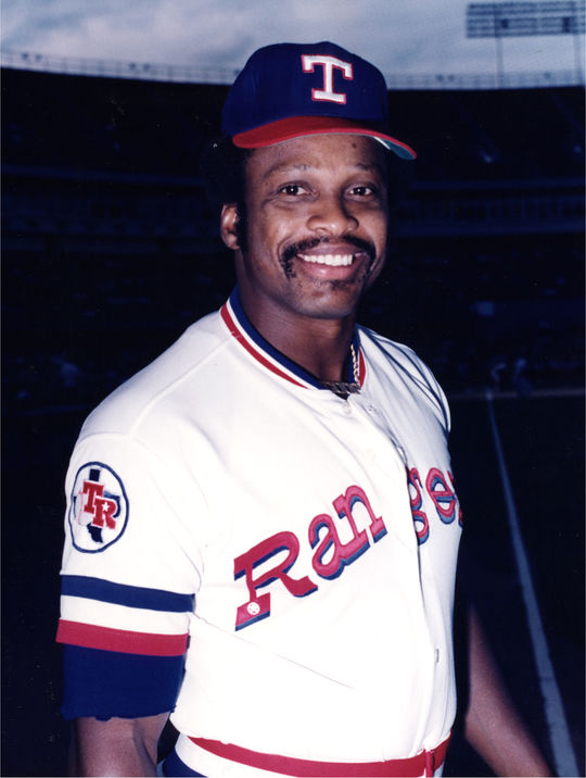 Al Oliver of the Texas Rangers. BL-634-81 (National Baseball Hall of Fame Library)
