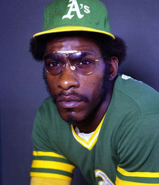 Mitchell Page debuted with the Oakland A's in 1977 and finished second in the AL Rookie of the Year vote that season after hitting .307 with 21 home runs, 75 RBI and 42 stolen bases. (Doug McWilliams/National Baseball Hall of Fame and Museum)