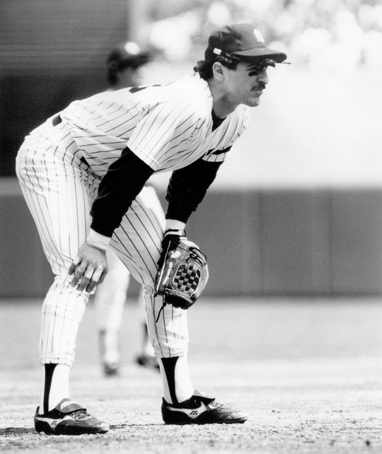Mike Pagliarulo played primarily third base while he was with the New York Yankees from 1984-89. (National Baseball Hall of Fame and Museum)