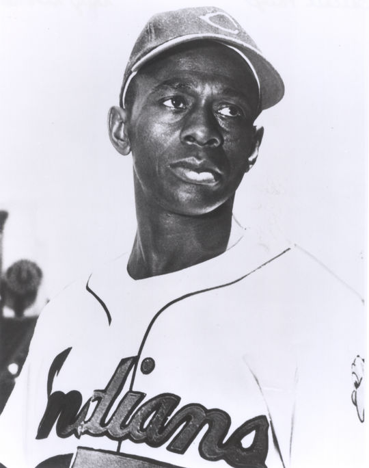Satchel Paige made his big league debut with the Cleveland Indians on July 9, 1948, at the age of 42 following a legendary career in the Negro Leagues. (National Baseball Hall of Fame and Museum)