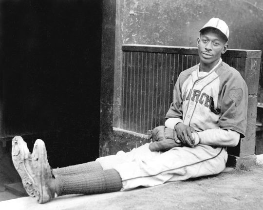 Satchel Paige dominated the Negro Leagues for more than 20 years before debuting in the big leagues in 1948. (National Baseball Hall of Fame and Museum)