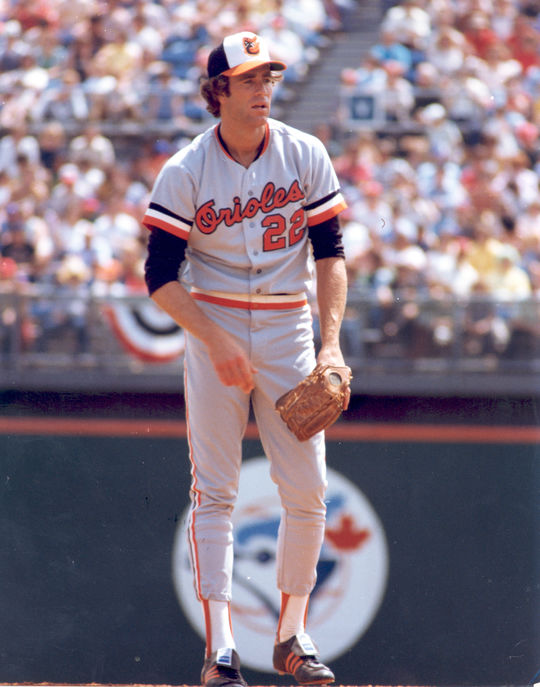 Jim Palmer won three American League Cy Young Awards during the 1970s with the Orioles and helped Baltimore advance to the postseason five times during the decade. (National Baseball Hall of Fame and Museum)