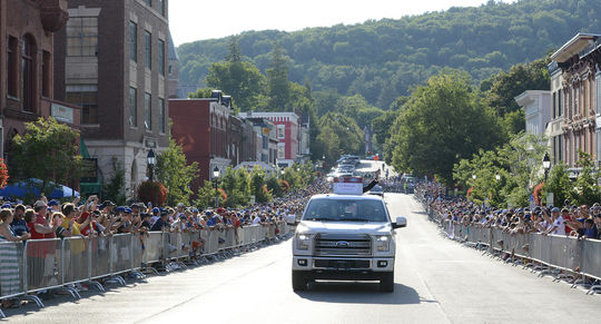 The 2018 Hall of Fame Parade of Legends will be held July 28 in Cooperstown. (Milo Stewart Jr./National Baseball Hall of Fame and Museum)