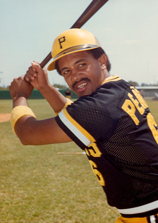 """Pirates catcher Tony Peña had the team put a tilde over the """"n"""" in his last name soon after he debuted in the majors in 1980. (National Baseball Hall of Fame and Museum)"""