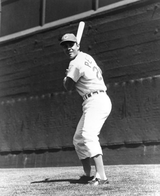 Future Hall of Famer Tony Perez was unable to visit his family back in Cuba during his first decade in the major leagues. BL-5595-71 (National Baseball Hall of Fame Library)