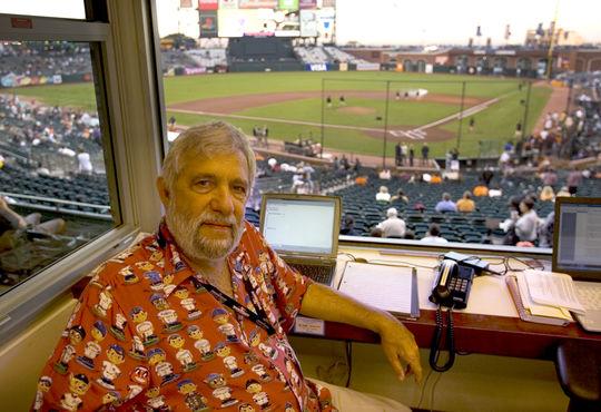 2009 J.G. Taylor Spink Award Winner Nick Peters (Paul Kitagaki Jr./National Baseball Hall of Fame Library)