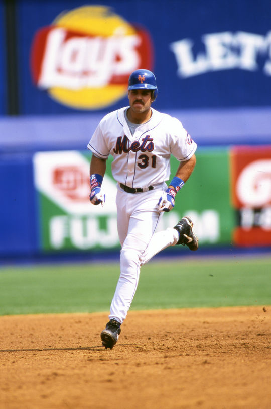 Mike Piazza spent eight of his 16 big league seasons with the Mets, where he led the team to the National League pennant in 2000. (Michael Ponzini/National Baseball Hall of Fame and Museum)
