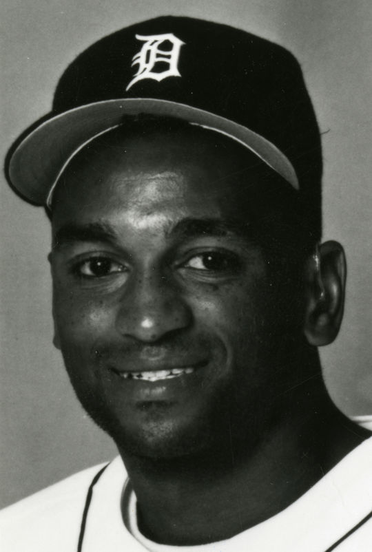 Curtis Pride is one of several athletes who overcame deafness to reach the big leagues. Pride played in the big leagues for 11 seasons. (National Baseball Hall of Fame and Museum)