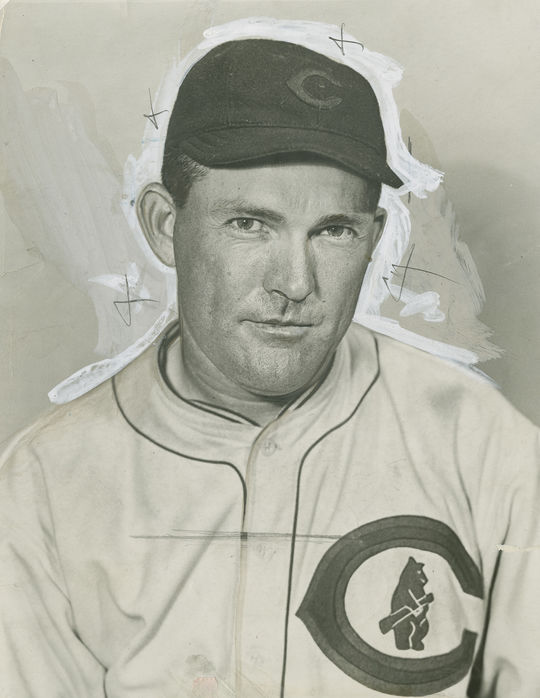 """George Altman played so well when he reported to the Cubs' Spring Training camp in 1959 that he drew praise from Rogers Hornsby (above) and Ty Cobb. <a href=""""http://collection.baseballhall.org/PASTIME/hornsby-rogers-photograph-circa-1930"""">PASTIME</a> (National Baseball Hall of Fame and Museum)"""