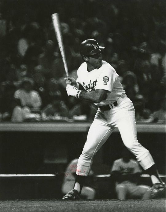 Steve Garvey played on four NL pennant winners with the Dodgers. (National Baseball Hall of Fame and Museum)