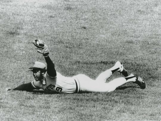 Dave Parker's career took more than a few unexpected twists, but the numbers Parker left behind tell the story of a player who could do it all. (National Baseball Hall of Fame and Museum)