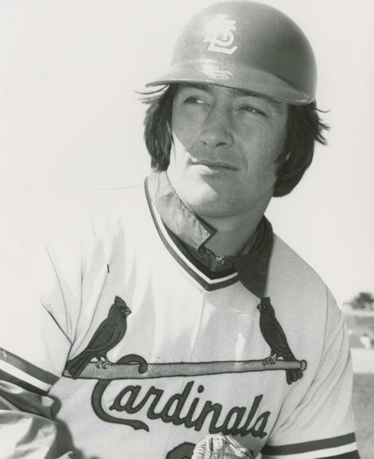 Among those who played at least 50 percent of their games at catcher, Ted Simmons ranks second in hits, doubles, RBI and fifth in runs. (National Baseball Hall of Fame and Museum)