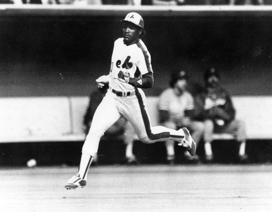 After a 23-year big league career, including 13 with the Expos, Tim Raines was inducted into the Hall of Fame in 2017. (National Baseball Hall of Fame and Museum)