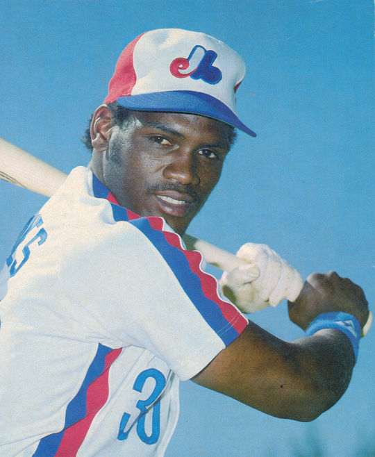 When Tim Raines tripled in the top of the 13th inning of the 1987 All-Star Game it was his first hit in a Midsummer Classic. (National Baseball Hall of Fame and Museum)
