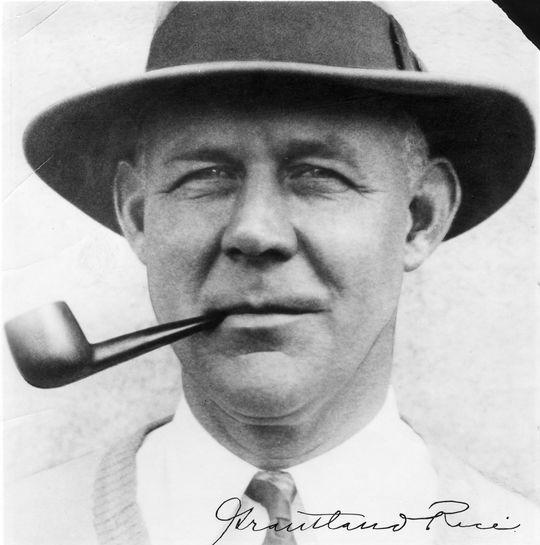 1966 J.G. Taylor Spink Award Winner Grantland Rice - BL-3859-74 (National Baseball Hall of Fame Library)