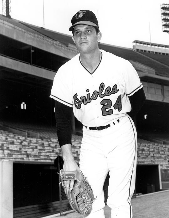 Pete Richert spent five seasons with the Orioles, helping Baltimore win three American League pennants and the 1970 World Series title. (National Baseball Hall of Fame and Museum)