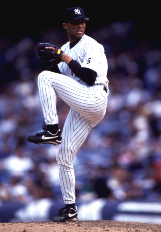Mariano Rivera became the second pitcher in history to record at least 600 saves, after fellow Hall of Famer Trevor Hoffman. (Michael Ponzini/National Baseball Hall of Fame and Museum)
