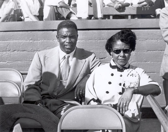 A year after Jackie Robinson's passing in 1972, Rachel Robinson created the Jackie Robinson Foundation with the goal of advancing higher education through college scholarships and leadership training. (National Baseball Hall of Fame and Museum)
