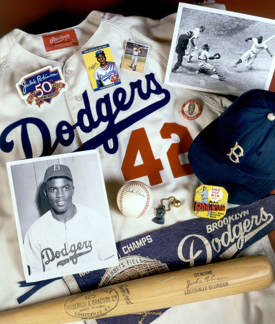 Jackie Robinson was elected to the Hall of Fame in 1962. (By Photographer Milo Stewart Jr./National Baseball Hall of Fame and Museum)