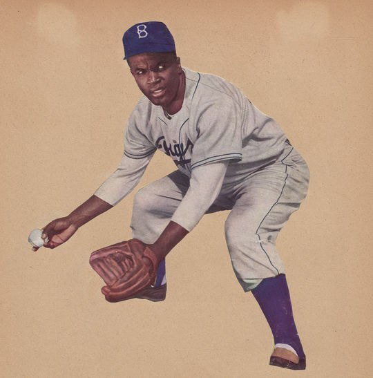 While exploring the Jackie Robinson scrapbooks, fans can also pour through Wendell Smith's papers, documenting the call for Major League Baseball to allow African-American players and the story of Robinson's path to the big leagues. (National Baseball Hall of Fame)