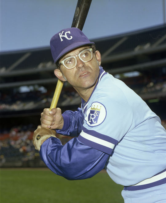 Cookie Rojas played for the Kansas City Royals from 1970-1977. (Doug McWilliams/National Baseball Hall of Fame and Museum)