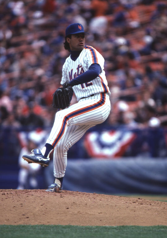 Ron Darling was on the mound for the Mets from 1983-1991, the majority of his 13-year major league career. (National Baseball Hall of Fame)