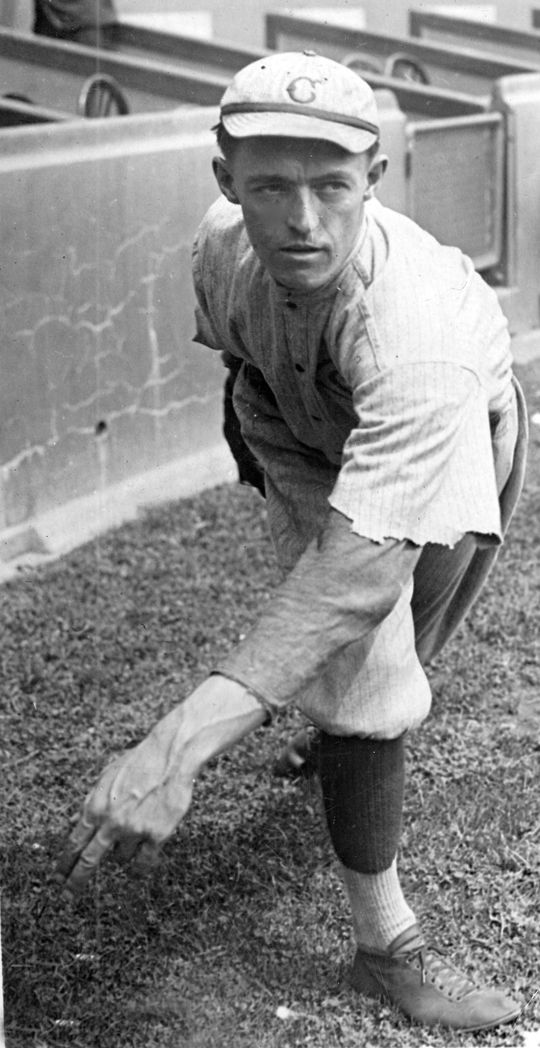 Dutch Ruether of the Cincinnati Reds. BL-3886-72b (National Baseball Hall of Fame Library)