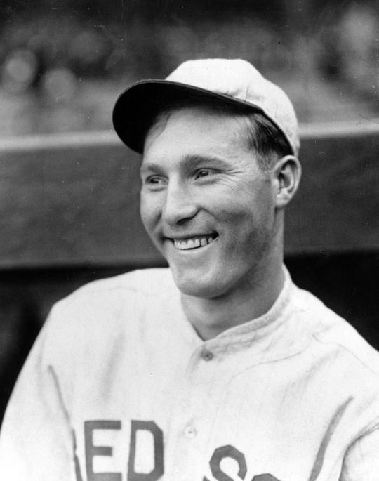 Red Ruffing pitched seven seasons for the Red Sox at the start of his career, compiling a record of 39-96. But after being traded to the Yankees during the 1930 season, Ruffing posted a record of 234-129 en route to Hall of Fame election in 1967. (Charles M. Conlon/National Baseball Hall of Fame and Museum)