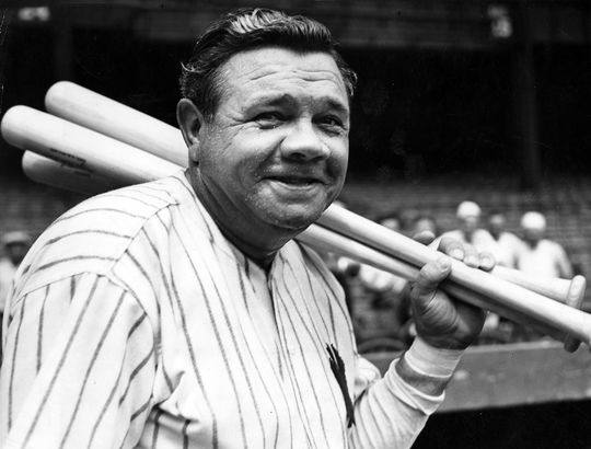 """Jane Leavy says the impact of digitization in her research for <em>The Big Fella: Babe Ruth and the Advent of Celebrity</em> has been massive, as it provides her with """"an invaluable way for me to recreate what that moment of hurried, frenzied fame was like."""" (National Baseball Hall of Fame)"""