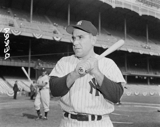 Yogi Berra became the 22nd member of the Hall of Fame's all-time nonagenarian club when he turned 90 on May 12, 2015. BL-142-2012 (Osvaldo Salas / National Baseball Hall of Fame Library)