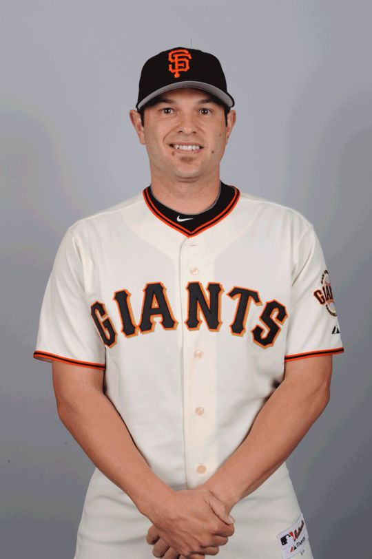 Freddy Sanchez of the San Francisco Giants. (National Baseball Hall of Fame)