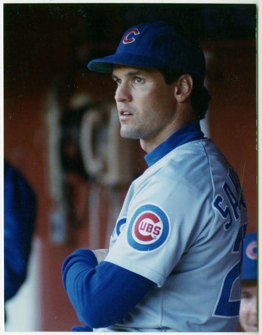 Ryne Sandberg spent all but his first major league season with the Chicago Cubs. (Doug McWilliams/National Baseball Hall of Fame and Museum)