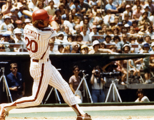 Mike Schmidt's retirement announcement on May 29, 1989 came as a surprise to many in the baseball industry. (National Baseball Hall of Fame and Museum)