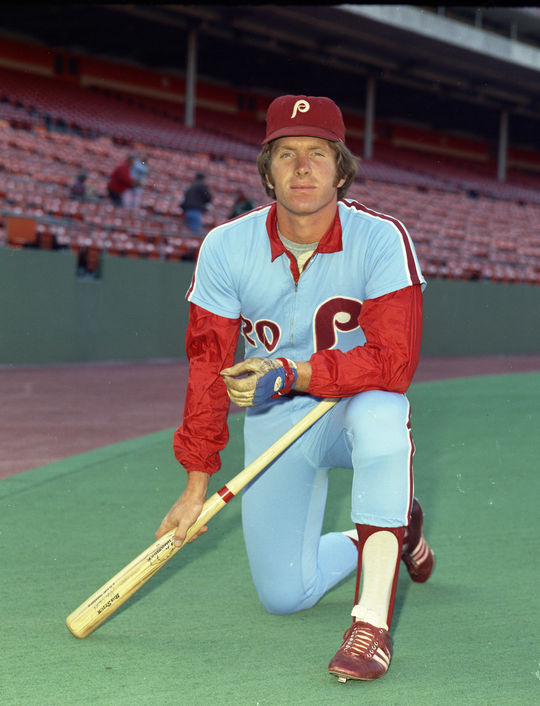 Mike Schmidt made his big league debut in 1972. By 1974, Schmidt posted the first of eight seasons where he led the National League in home runs. (Doug McWilliams/National Baseball Hall of Fame and Museum)