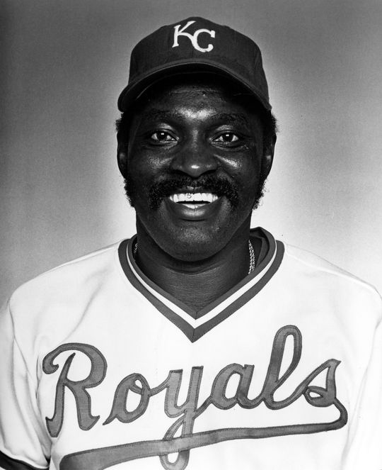 George Scott played for the Kansas City Royals in 1979. (National Baseball Hall of Fame and Museum)