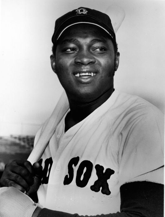 George Scott began his career with the Boston Red Sox in 1966 and stayed through the 1971 season. He would return to Boston in 1977 and would remain with the team until 1979, when he was traded to the Kansas City Royals. (National Baseball Hall of Fame and Museum)