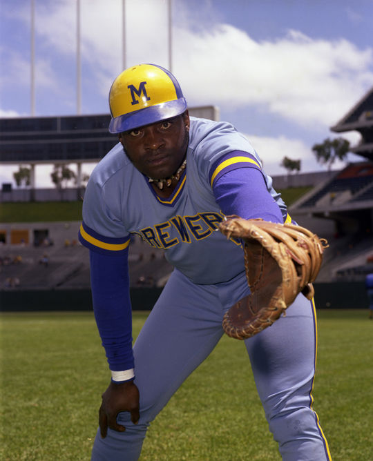 Over his four seasons with the Brewers, George Scott emerged as a star in Milwaukee, while also becoming extraordinarily popular with the fan base. (Doug McWilliams/National Baseball Hall of Fame and Museum)
