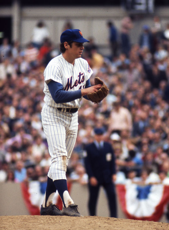 Tom Seaver recorded 198 of his 311 career victories with the Mets over 12 seasons. (National Baseball Hall of Fame and Museum)