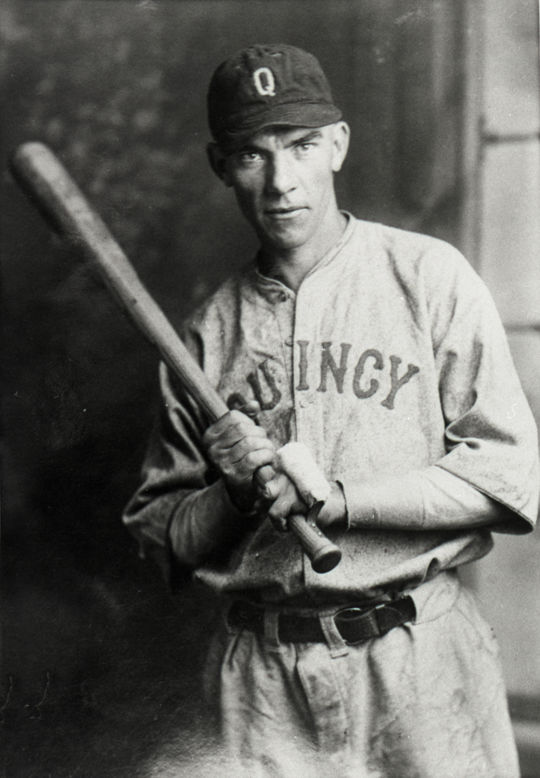 Syl Simon played for six years in the minors following his injury and hit better than .300 four times. His last season was with the Quincy Indians of the Illinois-Indiana-Iowa League in 1932. (National Baseball Hall of Fame and Museum)