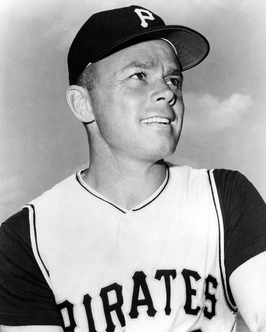 On Dec. 9, 1959, the Pittsburgh Pirates traded Dick Hall, Hank Foiles and Ken Hamlin to the Kansas City Athletics for veteran catcher Hal Smith (pictured above). (National Baseball Hall of Fame and Museum)