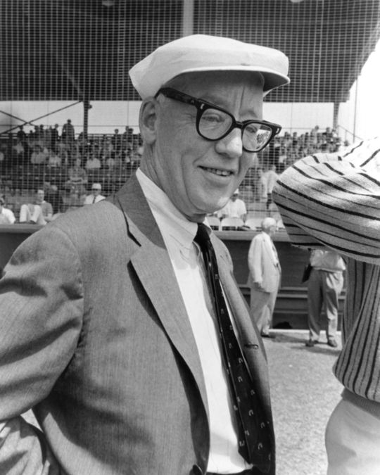 1976 J.G. Taylor Spink Award Winner Red Smith (National Baseball Hall of Fame Library)