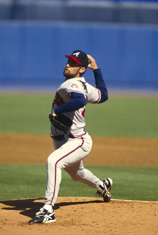 John Smoltz finished his big league career with 213 wins and 154 saves. (Rich Pilling/National Baseball Hall of Fame and Museum)