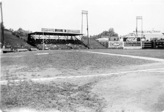 Ponce de Leon Park in Atlanta was home to the Atlanta Crackers baseball team. (National Baseball Hall of Fame and Museum)