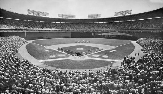 The last time the All-Star Game was held in Washington D.C., it took place at Robert F. Kennedy Memorial Stadium in 1969. (National Baseball Hall of Fame and Museum)