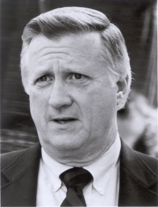 "George Steinbrenner's business acumen resulted in the Sporting News naming him the No. 1 ""Most Powerful Man in Sports"" in 2002. (National Baseball Hall of Fame)"
