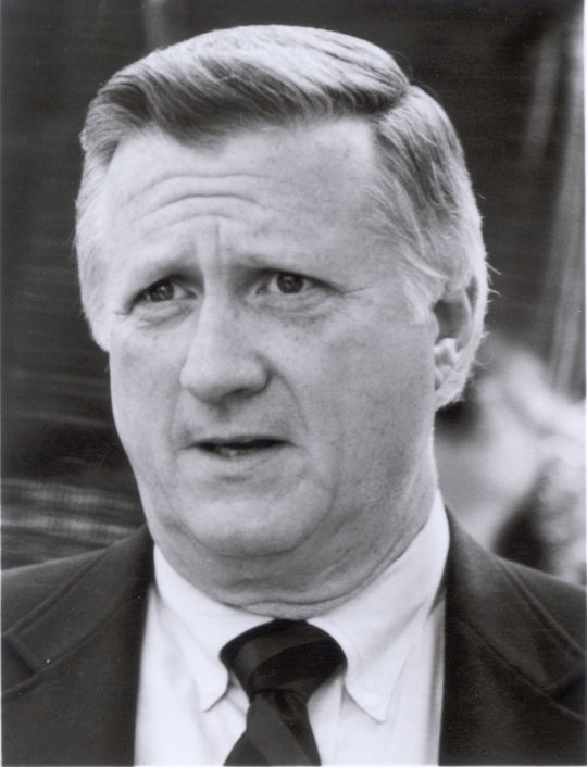 """Upon meeting George Costanza in a <em> Seinfeld </em> episode titled """"The Opposite,"""" George Steinbrenner hires him on the spot as the Assistant to the Traveling Secretary. (National Baseball Hall of Fame)"""