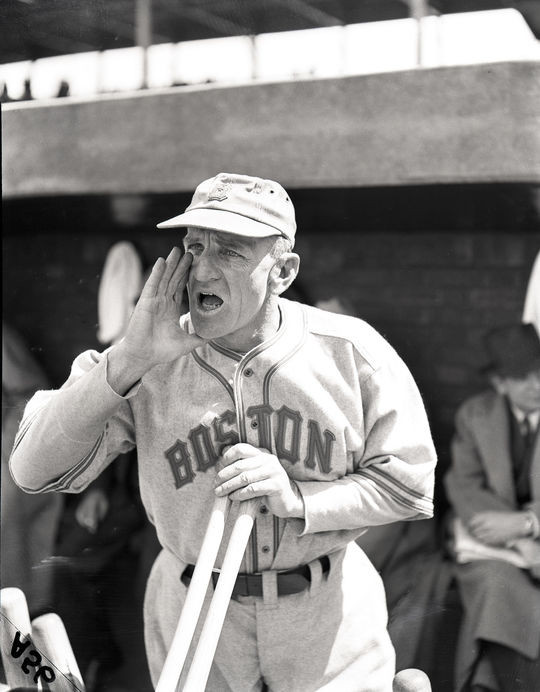 Following three years managing the Brooklyn Dodgers, Casey Stengel managed the Boston Braves/Bees from 1938-1943. (National Baseball Hall of Fame)