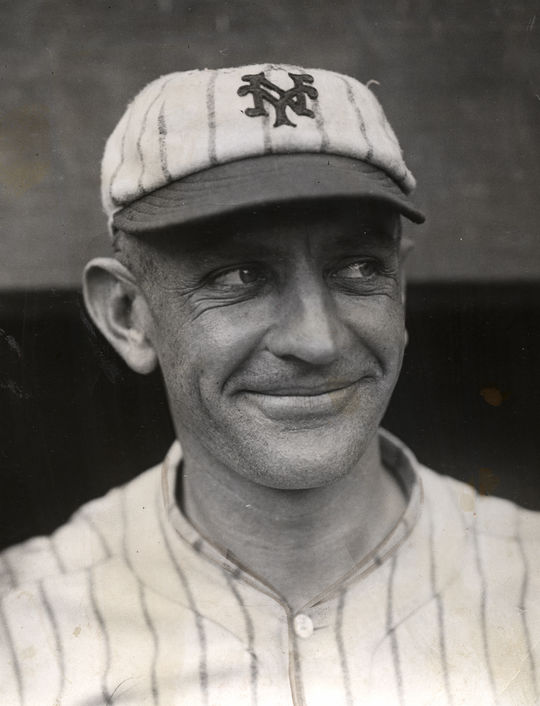 Prior to becoming a manager, Casey Stengel was an outfielder for 12 years in the major leagues. He went to three World Series, two of them with the New York Giants, helping New York win the title in 1922. (National Baseball Hall of Fame)