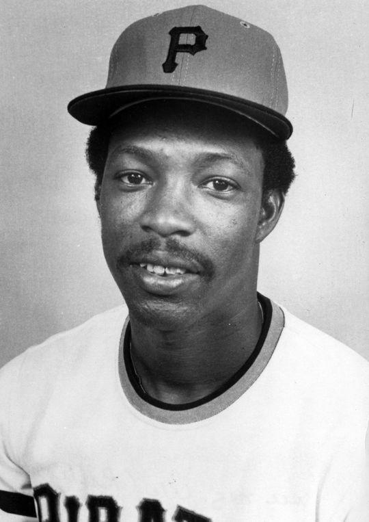 1975 headshot of Pittsburgh Pirates second baseman Rennie Stennett. BL-1768.75 (National Baseball Hall of Fame Library)