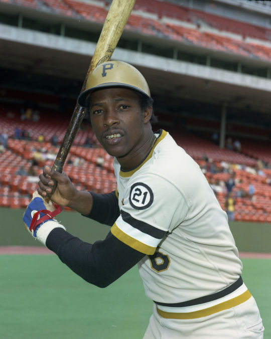 Rennie Stennett, who played for the Pirates from 1971-79, set a record on Sept. 16, 1975, by recording seven hits in a nine-inning game. (Doug McWilliams/National Baseball Hall of Fame and Museum)